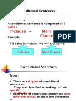 Conditional Sentences 1