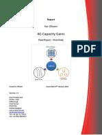 4 g Capacity Gains Final Report