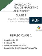 Clas 2 Estructura de Estados Financieros