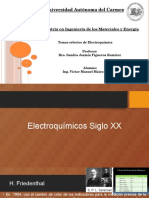 Historia de La Electroquimica