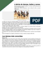 Bailes y Sones de Guatemala