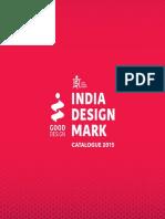 Indian Design Mark Catalogue 2015