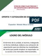 1-Oferta y Cotizacion de Exportacion