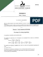 Mpp2008 Physique 2 Papier Blanc