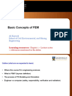 Basic Concepts of FEM