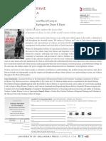 Coedited by David Carey Jr. and Gema Santamaría, Violence and Crime in Latin America