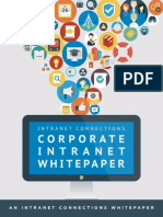 Intranet Connections Corporate Intranet Whitepaper