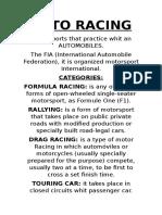 Auto Racing - GRANDE