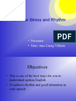Demo Sentence Stress