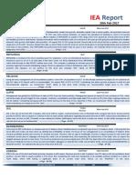 IEA Report 28th February