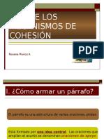 Uso de Los Mecanismos de Cohesion Roxana Munoz A