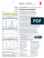 Programa Inclinalysis ICB0051A