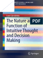 The Nature and Function of Intuitive Thought, Lauri Järvilehto