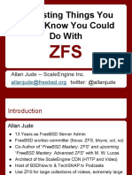 VBSDCon2015 - Interesting ZFS