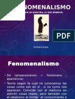 Fenomenalismo
