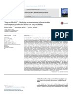 Upgradable PSS - Clarifying a New Concept of Sustainable Consumption Production Based on Upgradablility