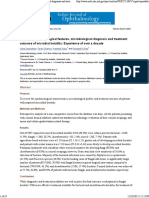 Review of Epidemiological Features, Microbiological Diagnosis and Treatment Outcome of Microbial Keratitis_ Experience of Over a Decade