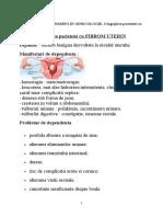 FIBROM UTERIN - INGRIJIREA PACIENTEI.docx