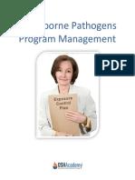 Blood Borne Pathogen Management