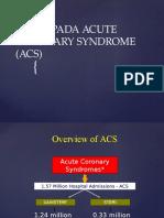 Askep Pada Acute Coronary Syndrome (Acs)