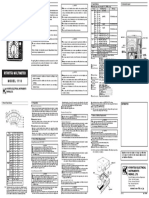 kew 1110 analog multimeter manual.pdf