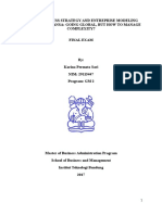 Karina Permata Sari_Final Exam of Business Strategy and Enterprise Modeling
