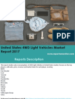 United States 4WD Light Vehicles Market Analysis and Opportunities