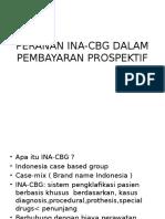 Peranan Ina-cbg Dalam Pembayaran Prospektif