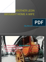 How My Brother Leon Brought Home a Wife