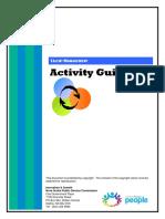 Talent Management Activity