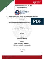 Aguedo Del Castillo Rudy Jurisprudencia Vinculante