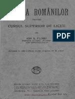 Floru Istoria Romanilor Pt Liceu 1929