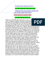 FIN 370 Final Exam Guide (New 2017)