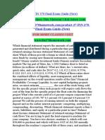 FIN 370 Final Exam Guide (New)