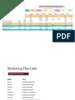 Marketing Project Plan1