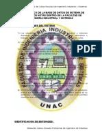 Diseño Logico de La Base de Datos de Sistema de Registro de Notas Dentro de La Facultad de Ingenieria Industrial y Sistemas