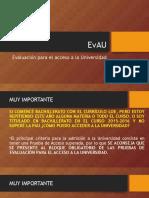 Presentación EvAU