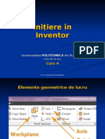 Initiere in Inventor - Curs 04.pps