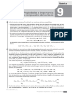 Tema 9 - Propiedades e Importancia de Los Compuestos de Carbono