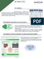 Eco Innovation Alstom g3
