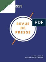 janvier 2017 // Revue de Presse