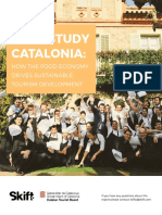 2017 Catalan Tourim Board