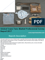 Global Tower Fans Key Manufacturer (Honeywell, Hunter Fan, Dyson, Lasko)