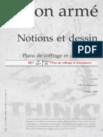 Notions et dessin Plans de coffrage et d'armatures.pdf