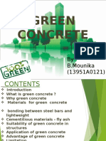Green Concrete Seminar Ppt