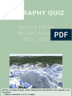 google earth quiz 2015 16