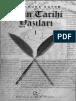 Alexandre Koyre - Bilim Tarihi Yazıları.pdf