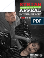 Syrian Psychological Appeal Interim Report