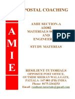 ad302 Materials Science and Engineering