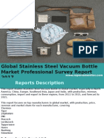 Global Stainless Steel Vacuum Bottle Market Analysis and Forecast 2017-2021